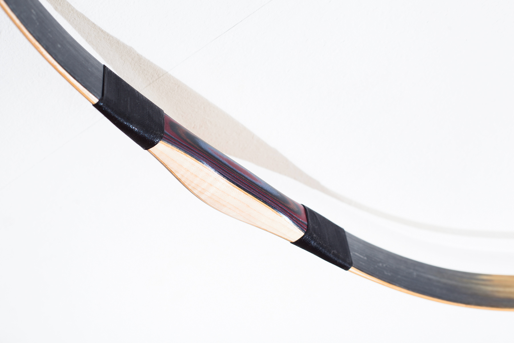 Traditional Assyrian recurve bow
