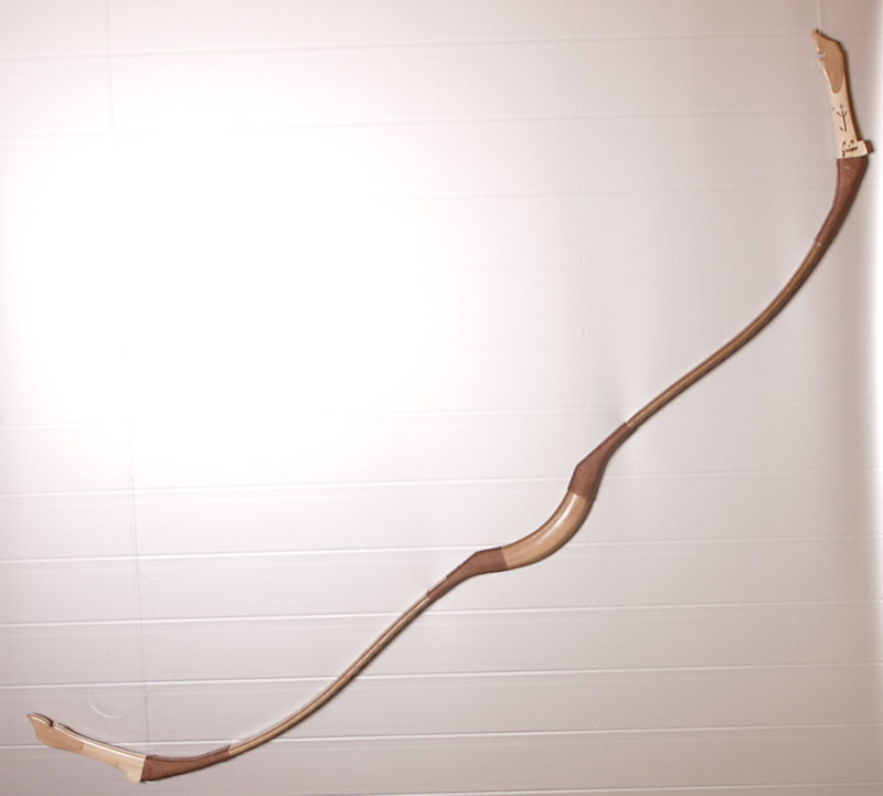 HUNGARIAN RECURVE BOW OF THE MIDDLE AGES